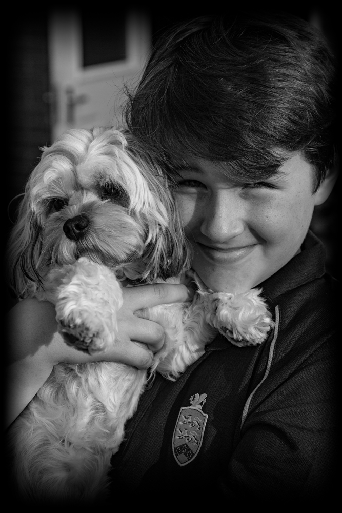 The Grandson and the Dog