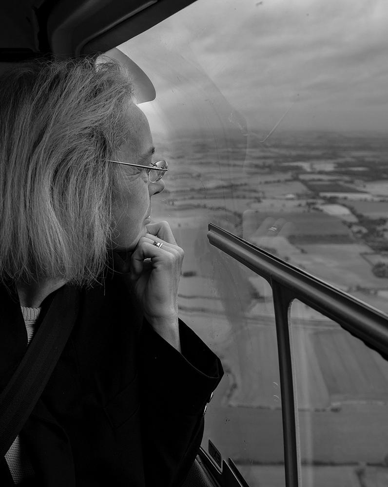 The Helicopter Girl -  Richard Broom Photography
