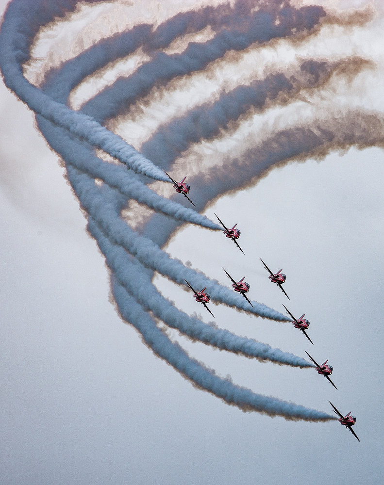 The Red Arrows - Richard Broom Photography