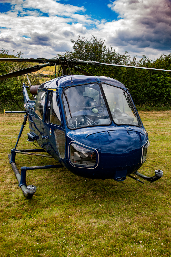 The Blue Chopper - Richard Broom Photography