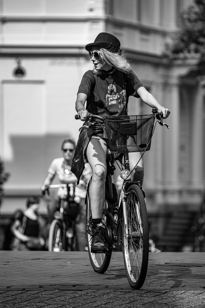The Biker Girl - Richard Broom Photography