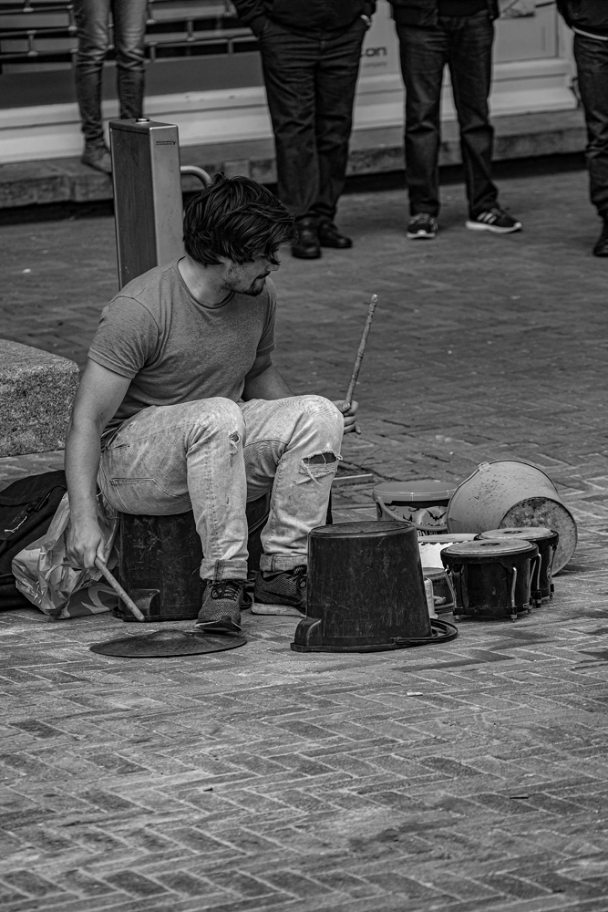 The Street Drummer - Richard Broom Photography