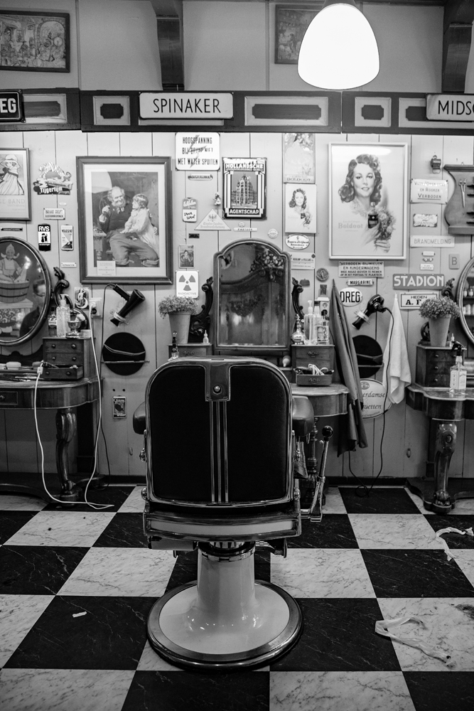 The Barber's Shop - Richard Broom Photography
