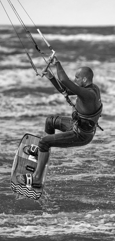 The Kitesurfer - Richard Broom Photography