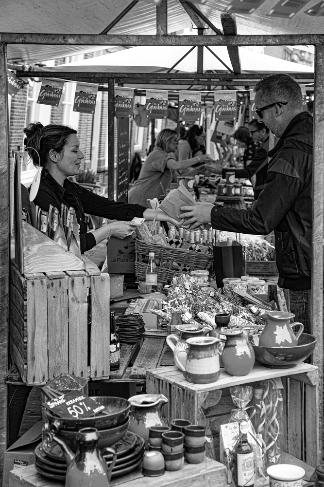 The Market Stall - Richard Broom Photography