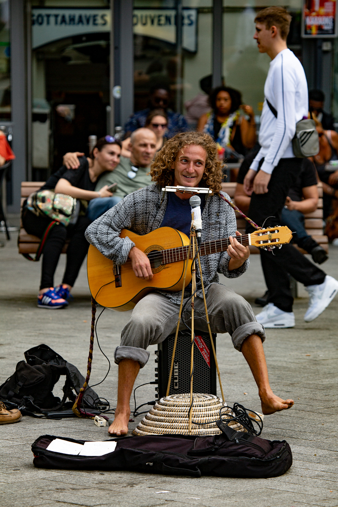 The Busker -Richard Broom Photography
