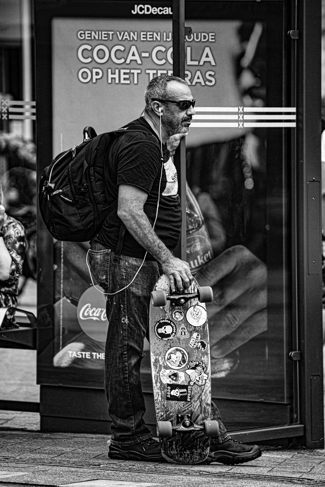 The Skateboard Man - Richard Broom Photography