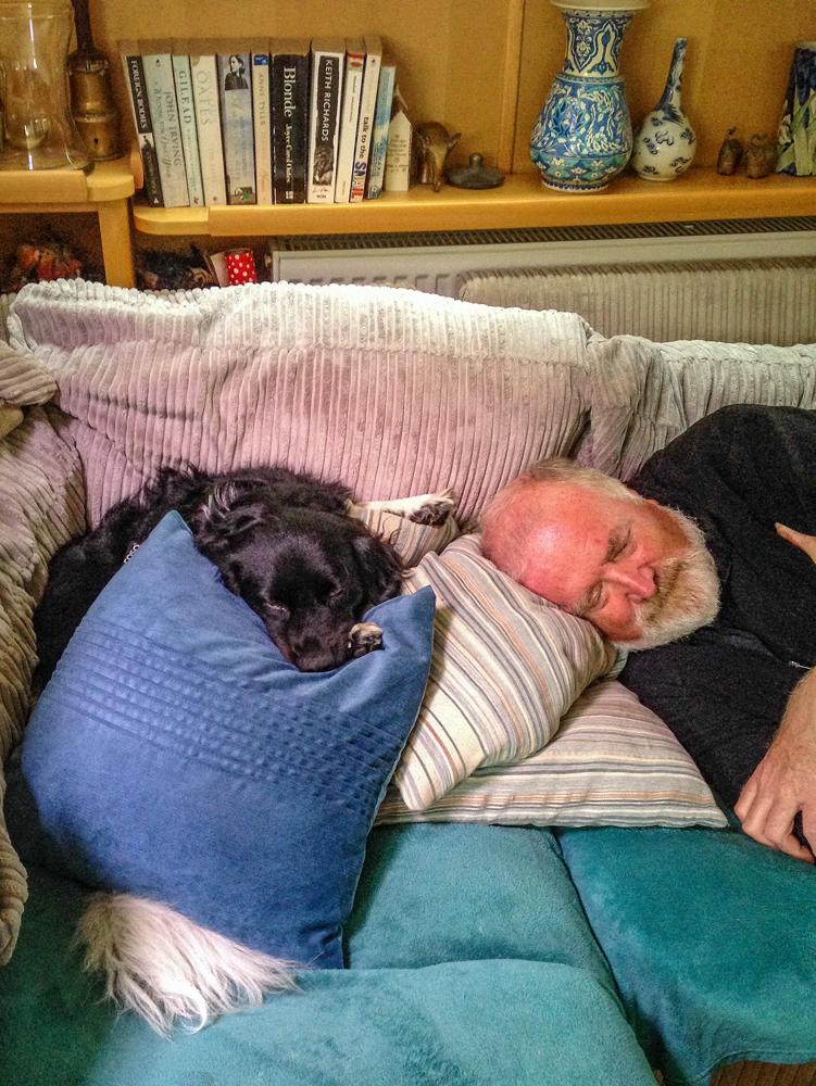 Me and the Dog - Richard Broom Photography
