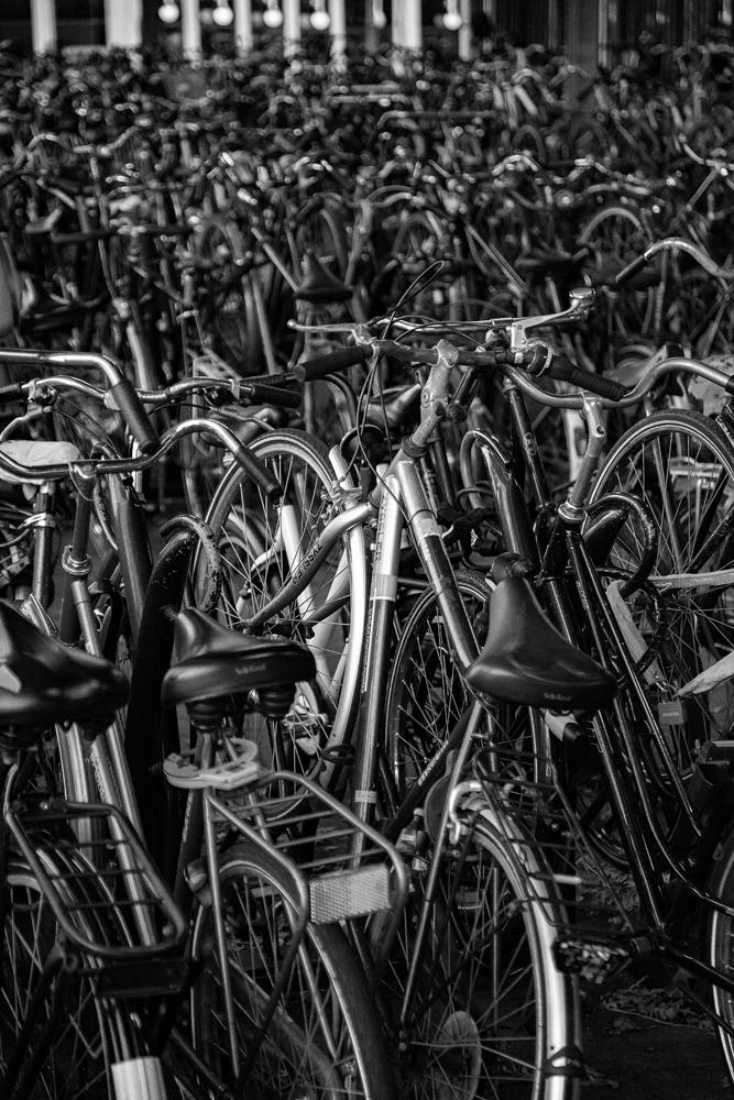 The Mess of Bikes - Richard Broom Photography
