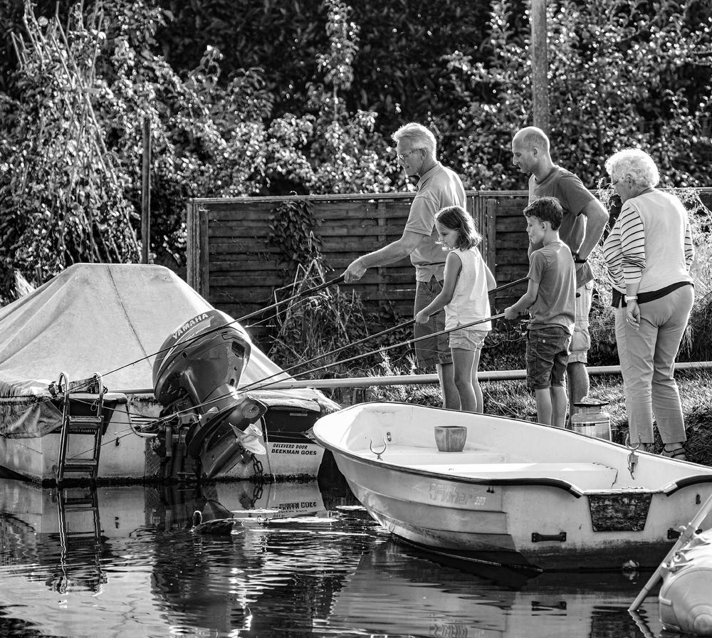 The Fishing Family - Richard Broom Photography