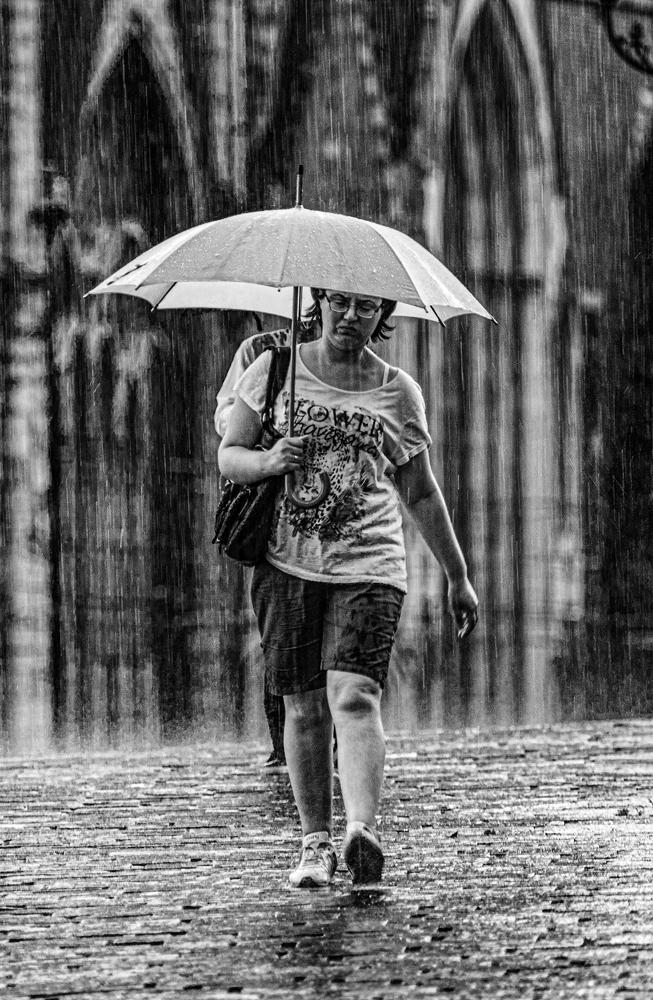 The Rain Girl - Richard Broom Photography