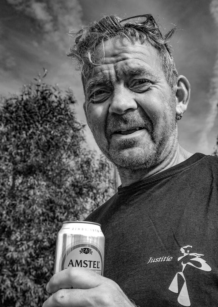 The Amstel Man - Richard Broom Photography