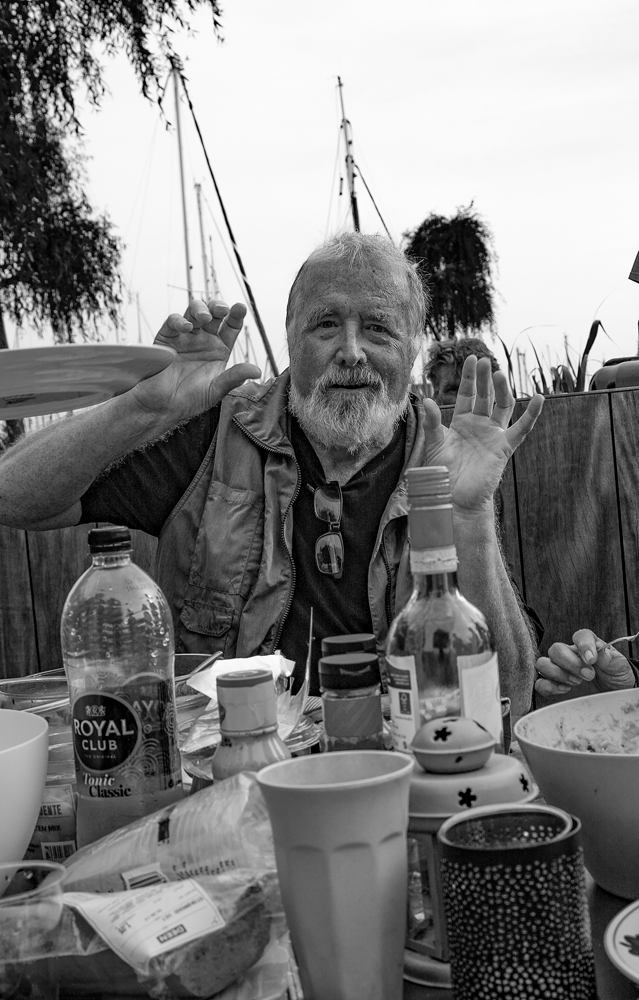 The Ugly Fat Old Geezer at the Barbecue - Richard Broom Photography