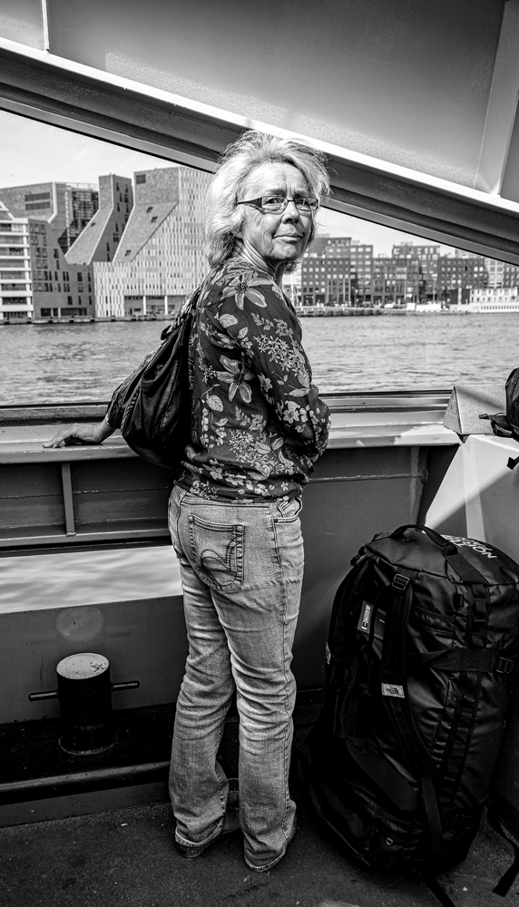 The Girl on the Ferry - Richard Broom Photography