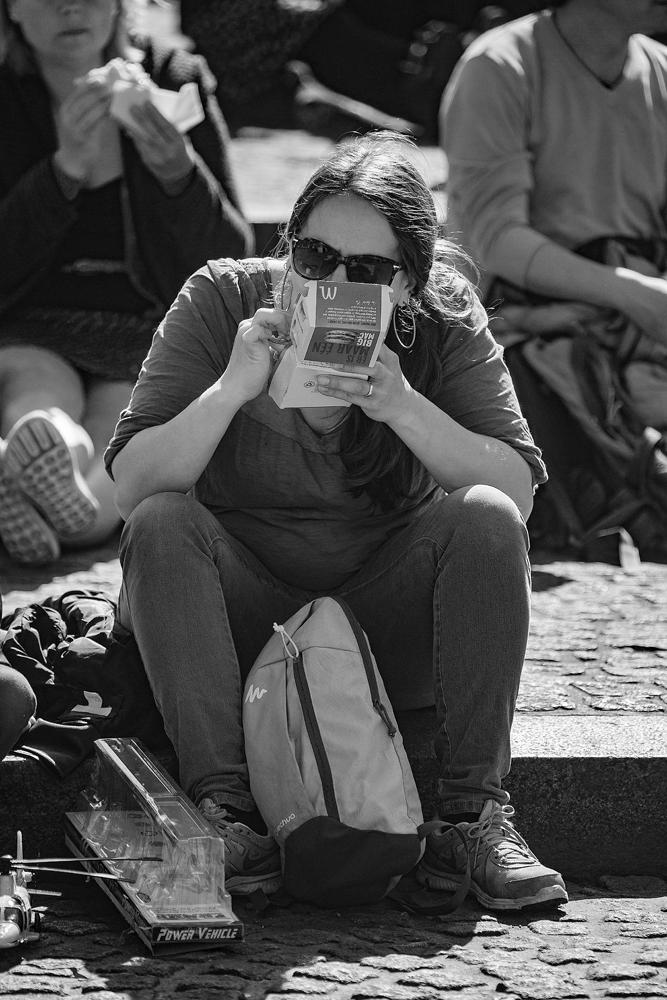 The Burger Girl - Richard Broom Photography