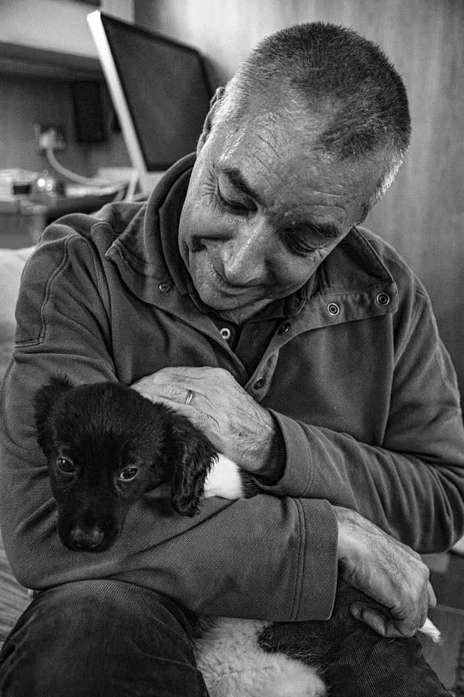 The Man and the Dog - Richard Broom Photography