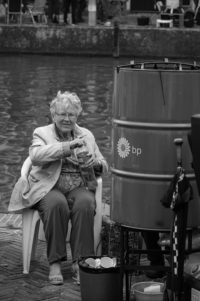 The BP Lady Eel Smoker - Richard Broom Photography