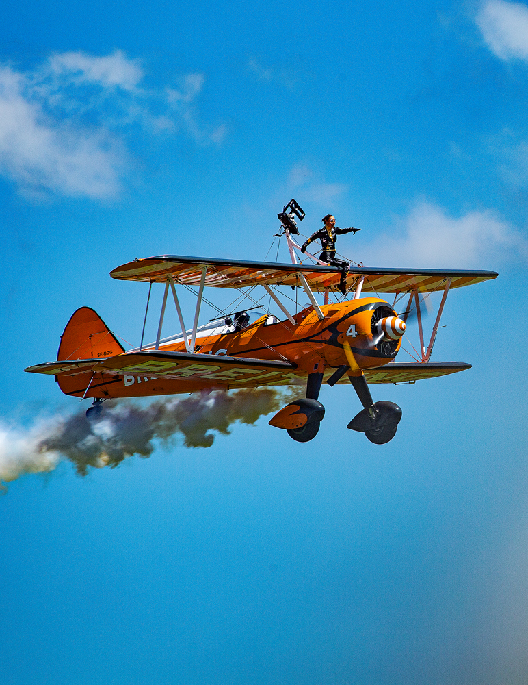 The Wing Walker - Richard Broom Photography