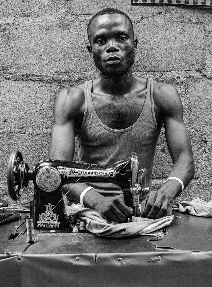 The Tailor of Monrovia - Richard Broom Photography