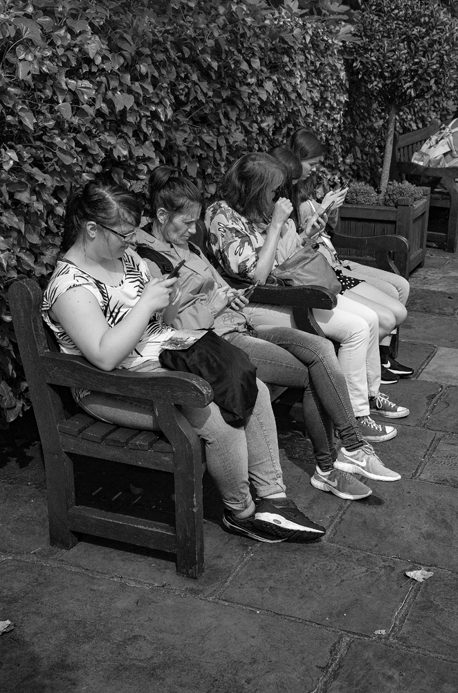 The Ladies Who Text - Richard Broom Photography