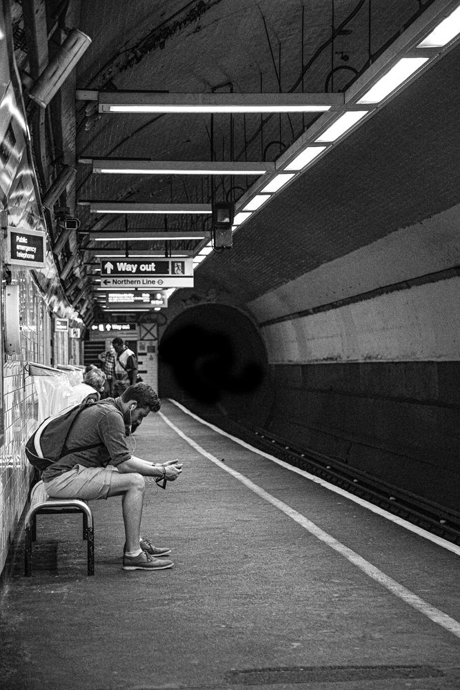 The Man in the Tunnel - Richard Broom Photography