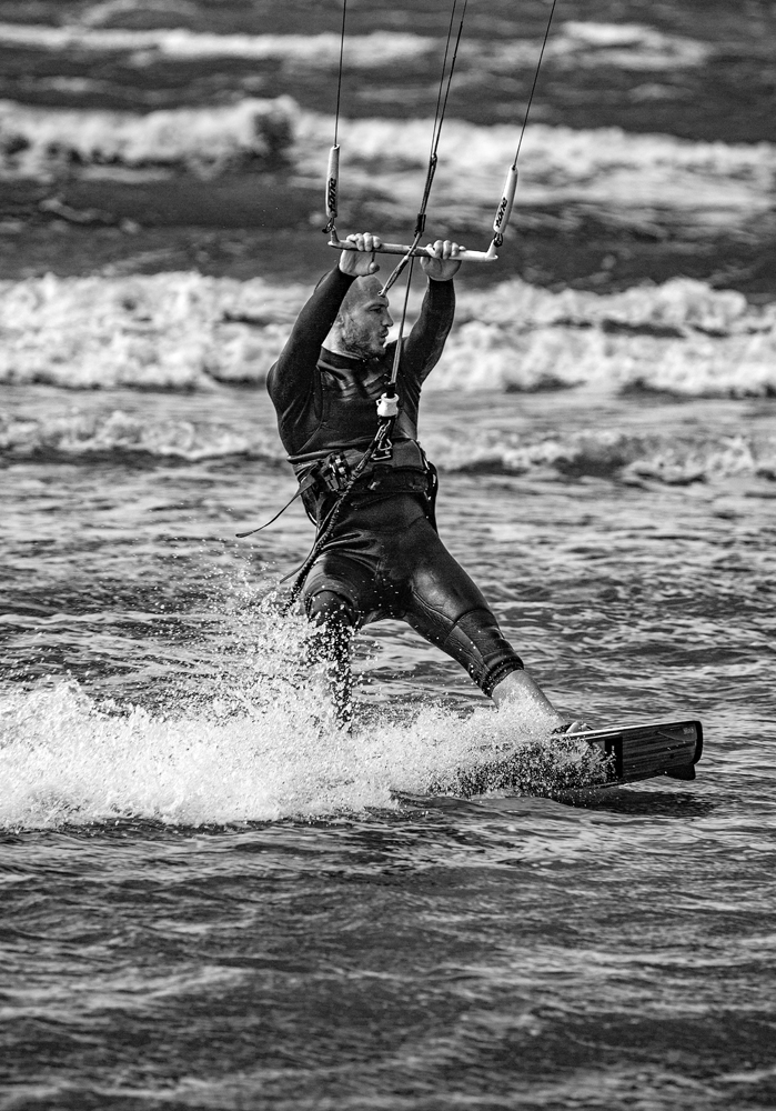 The Kite Surfer Chap - Richard Broom Photography