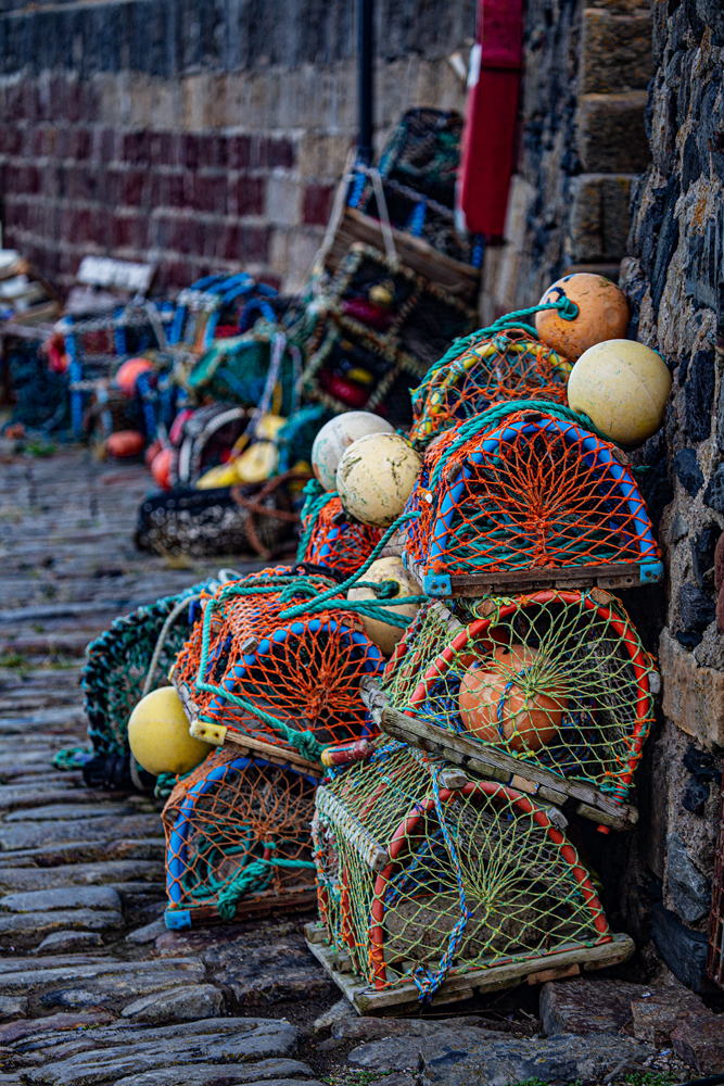 The Lobster Pots - Richard Broom Photography