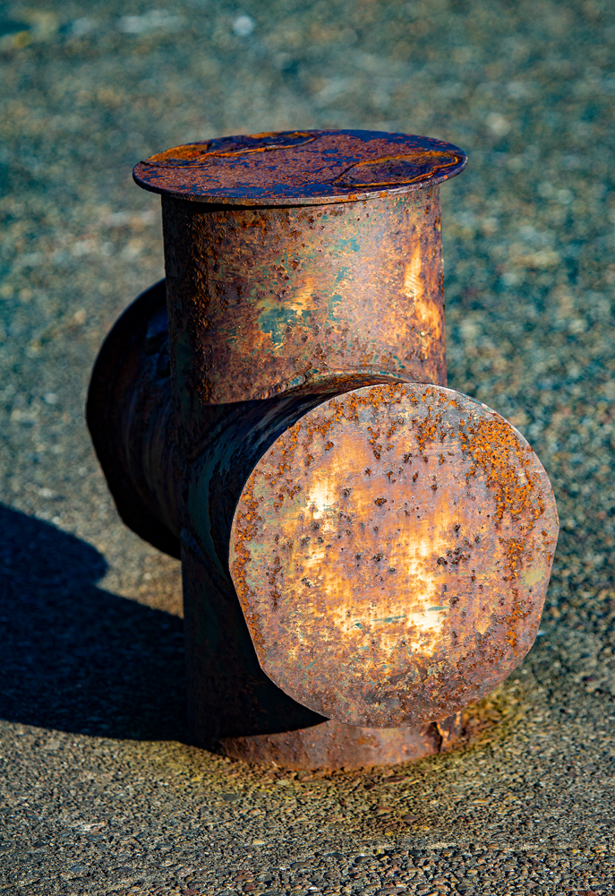 The Rusty Old Bollard - Richard Broom Photography