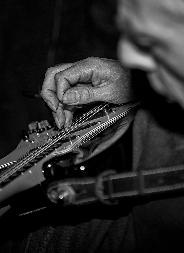 The Educated Hand of the Guitar Player