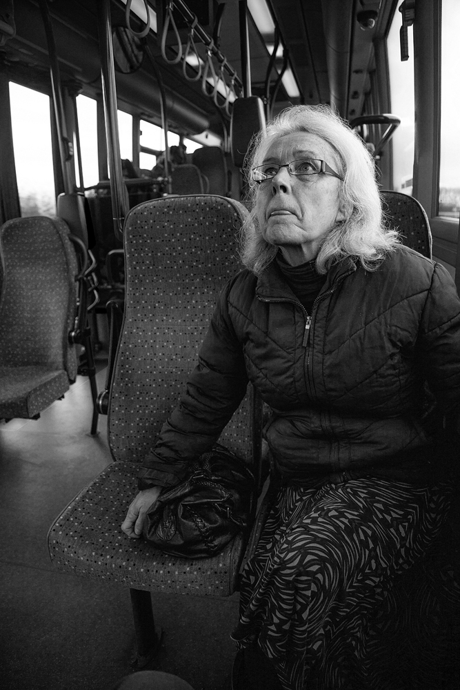 The Bus Lady - Richard Broom Photography
