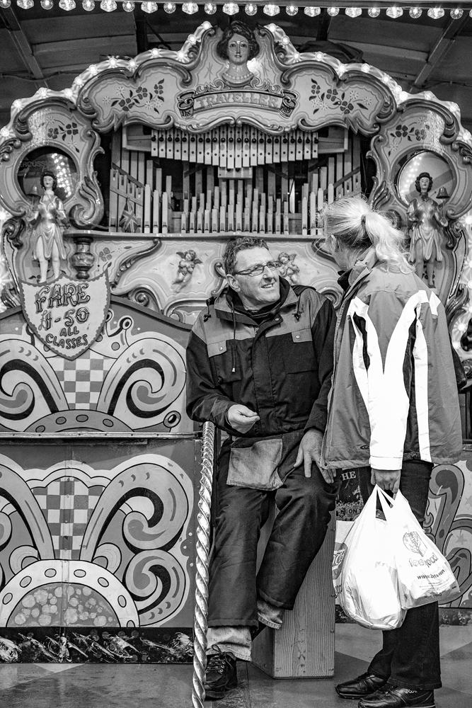 The man and his big organ - Richard Broom Photography