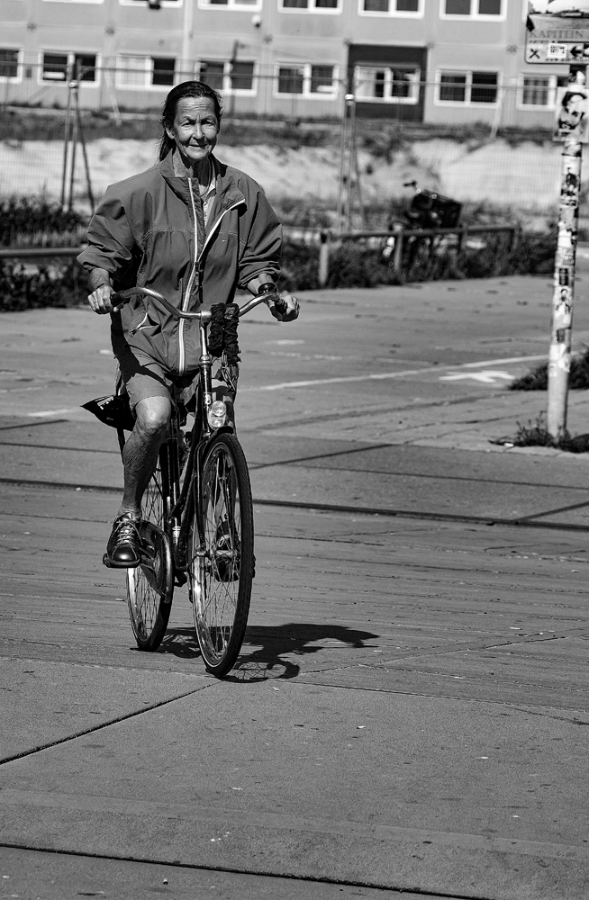 The Bike Lady - Richard Broom Photography