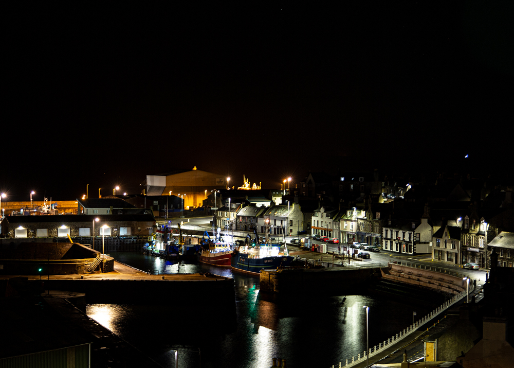The Harbour, MacDuff - Richard Broom Photography