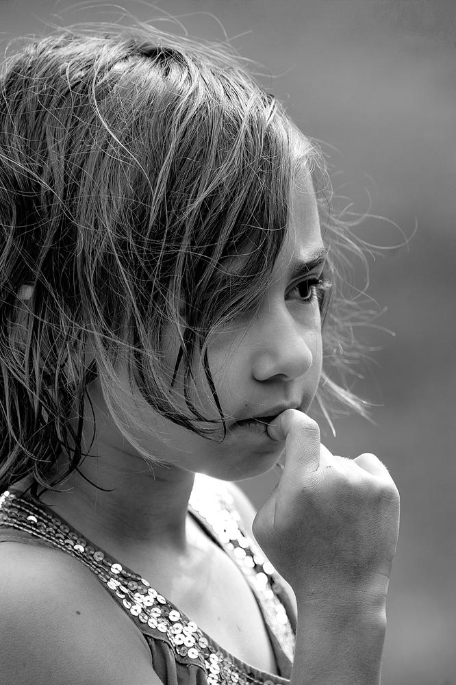 The Girl Thinking - Richard Broom Photography