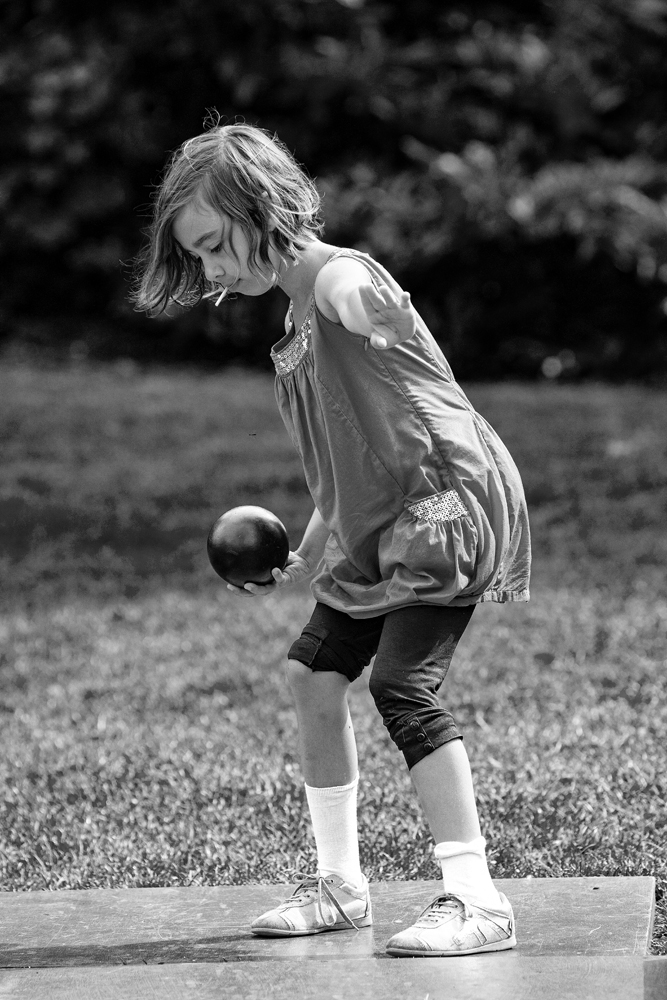 The Ball Girl - Richard Broom Photography