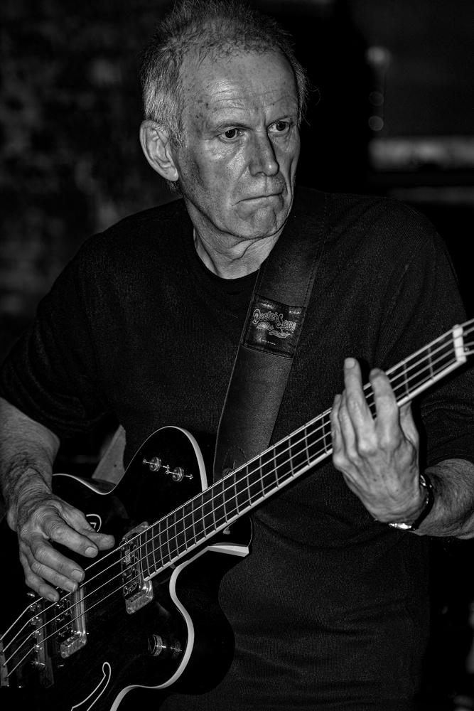 The Bass Player - Richard Broom Photography
