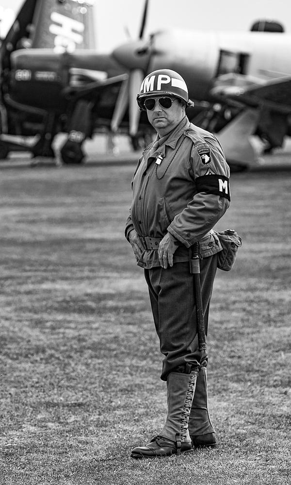 The Military Policeman - Richard Broom Photography