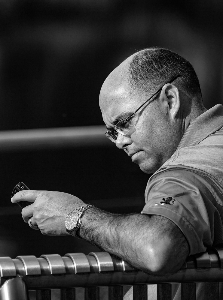 The Phone Man - Richard Broom Photography