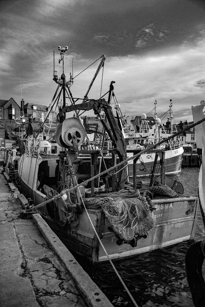 The back end of the fishing boat - Richard Broom Photography