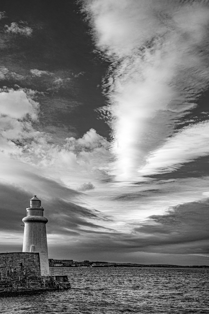 The Lighthouse and the Big Sky - Richard Broom Photography