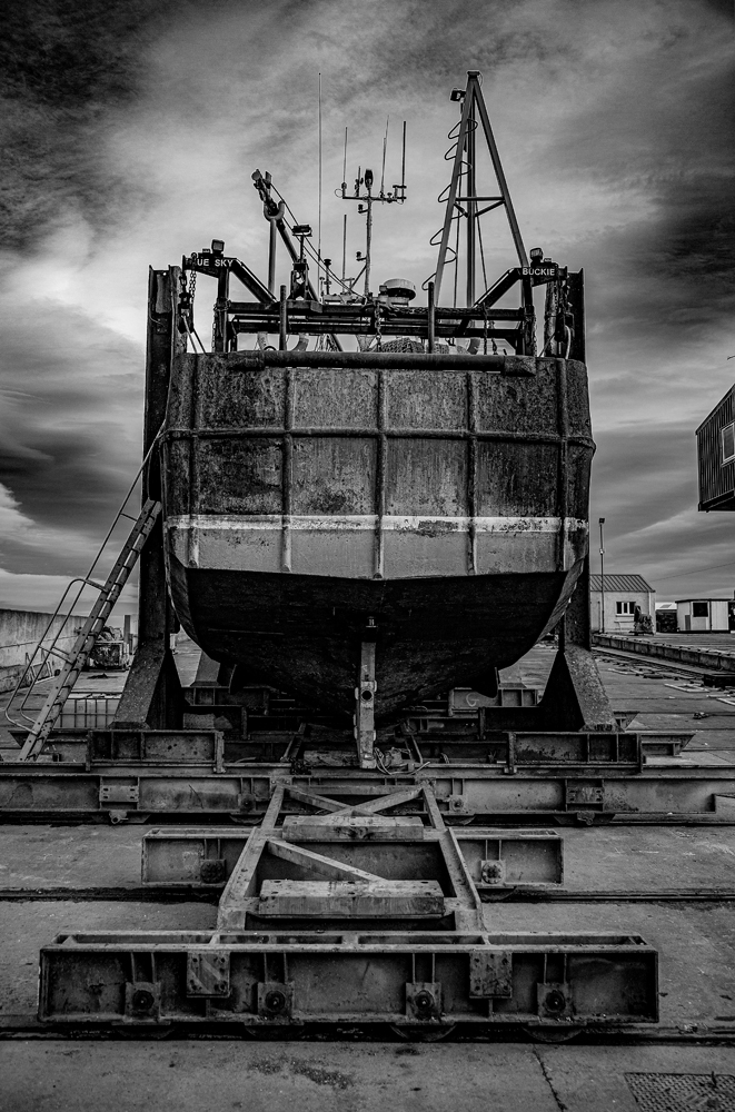 The Boat on the Slip (4) - Richard Broom Photography