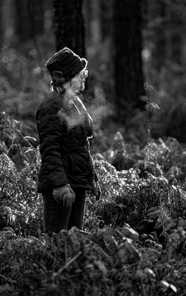 The Girl in the Forest - Richard Broom Photography