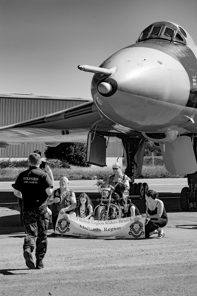 The Bikers and the Bomber - Richard Broom Photography