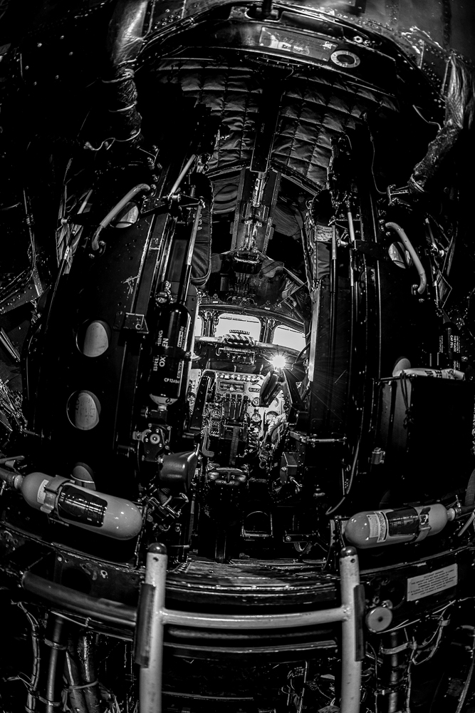 The Vulcan Bomber Cockpit - Richard Broom Photography
