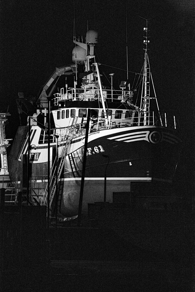 The Beached Trawler at Night - Richard Broom Photography