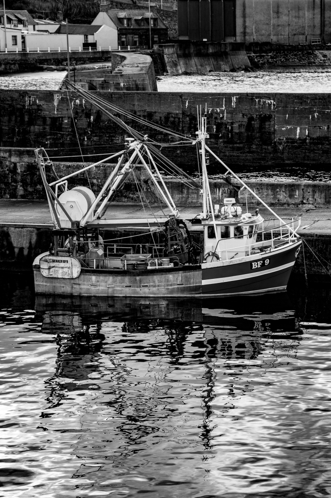 The BF9 - A Banff, Scotland, Fishing Vessel - Richard Broom Photography