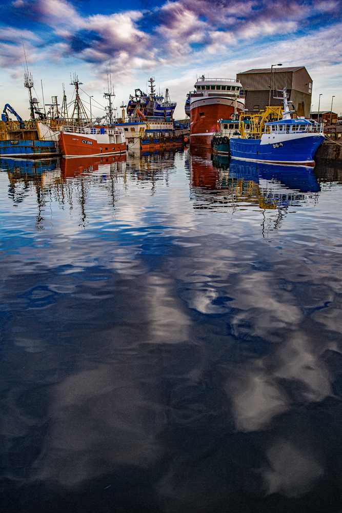 The Inner Harbour, MacDuff - Richard Broom Photography