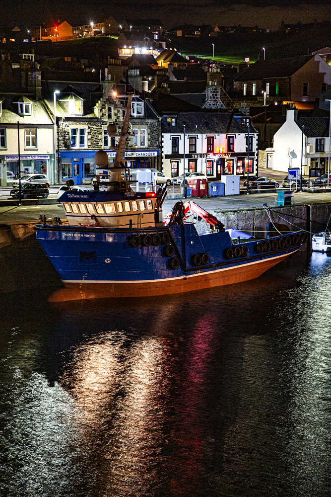 The Harbour at Night - Richard Broom Photography