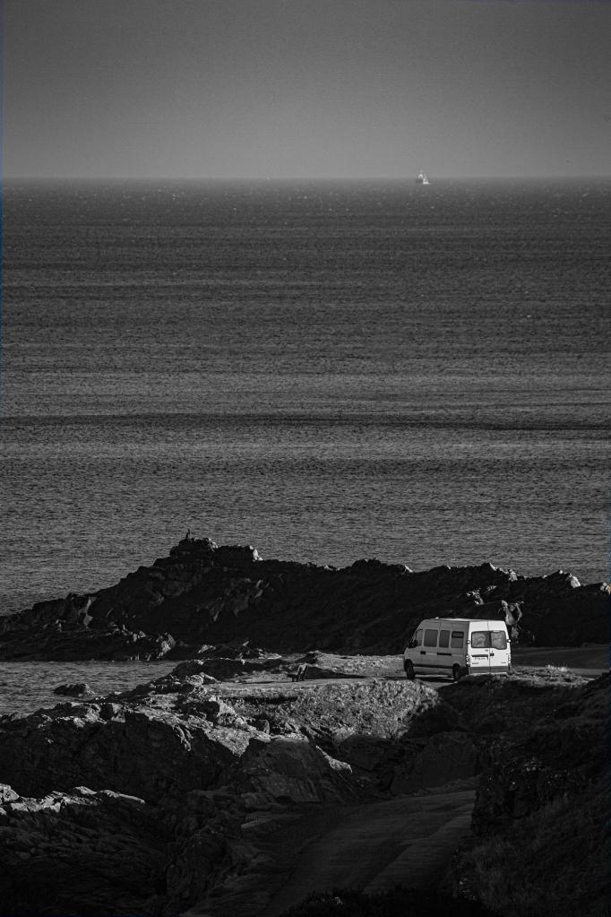 The Lonely Van - Richard Broom Photography