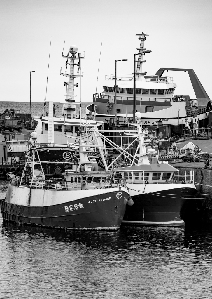 The Cluster of Trawlers - Richard Broom Photography